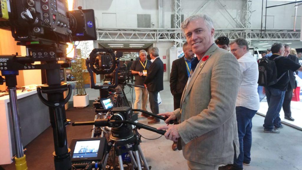 y Alan Lennox, CSS Product Specialist para ARRI, en CAPER SHOW 2019.