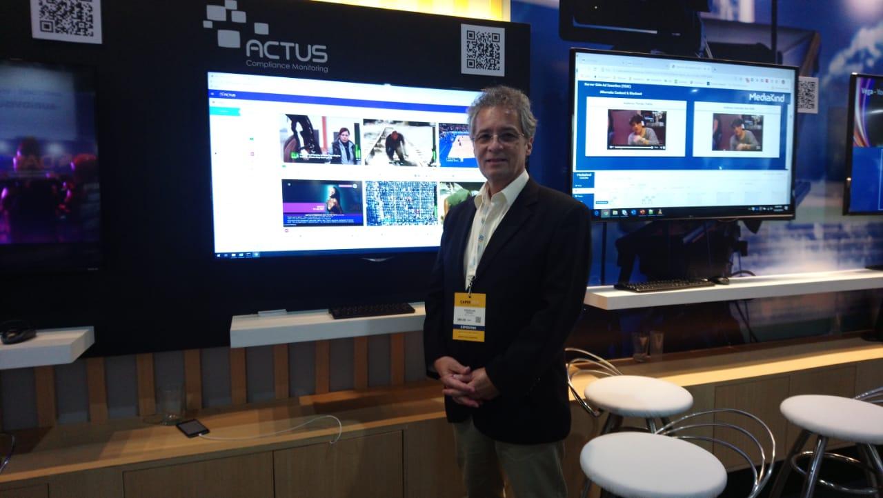 Douglas Perry, responsable de ACTUS en CAPER SHOW 2019