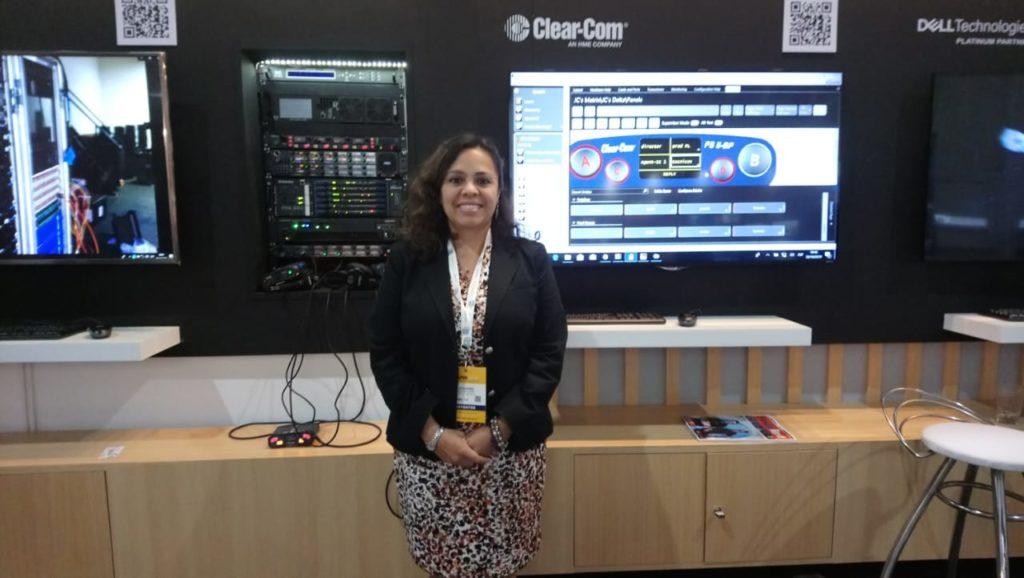Joquebed Colin Lugo, Regional Sales Manager, Latin America de Clear-Com