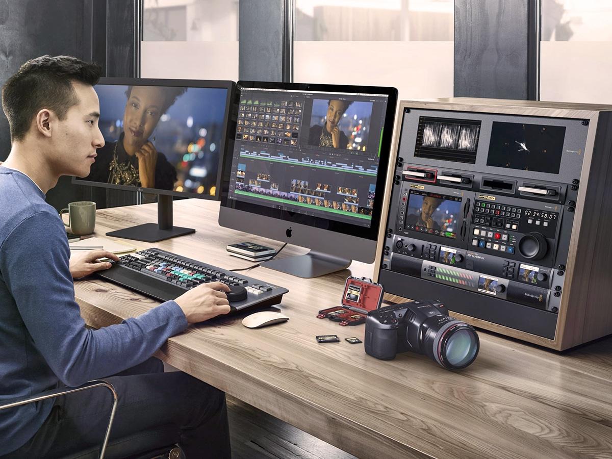 Los productos DaVinci para el etalonaje digital han sido galardonados con un Emmy® y lideran el sector televisivo y cinematográfico desde 1984.